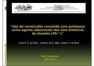 vermiculita-quitosana - Advances In Cleaner Production