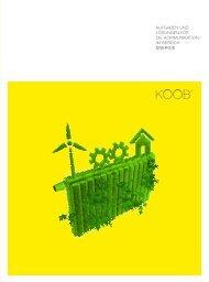 Energie - KOOB − Agentur für Public Relations GmbH