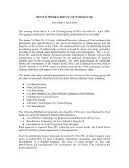 Meeting Minutes - Office of Fossil Energy