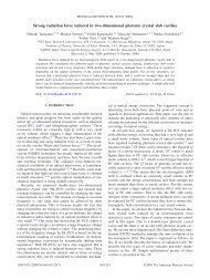 Strong radiation force induced in two-dimensional photonic crystal ...