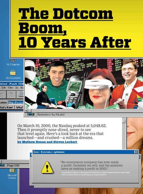 The Dotcom Boom, 10 Years After Wired