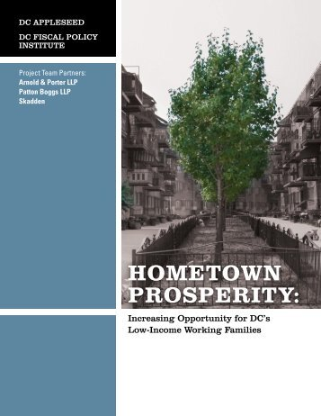 HOMETOWN PROSPERITY: - The Working Poor Families Project