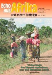 aktuelle Ausgabe - bei den Missionsschwestern des hl. Petrus Claver