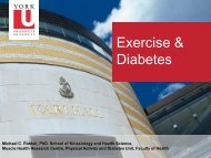 Exercise & Diabetes