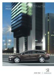 priser & produktfakta - Peugeot