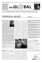 Ausgabe Juli 2012 - Diözese Rottenburg-Stuttgart