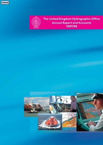 The UKHO's annual report for 2007-08 - United Kingdom ...