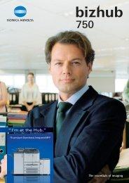 bizhub 750 brochure.pdf - Braden Business Systems, Inc