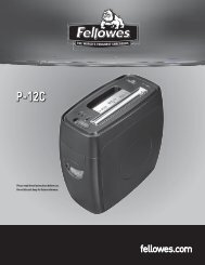 P-12C Manual-2010 - Fellowes