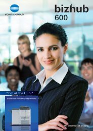 KONICA MINOLTA - Braden Business Systems, Inc