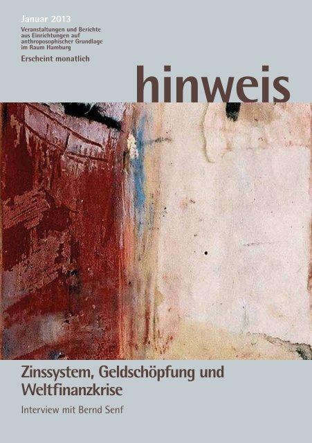 Ausgabe 01/2013 - Gemeinnützige Treuhandstelle Hamburg e.V.