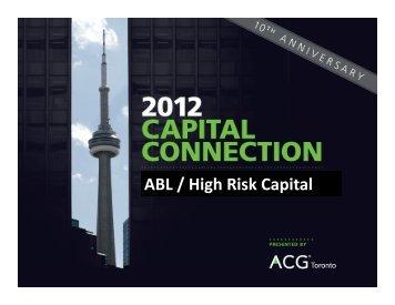 ABL / High Risk Capital