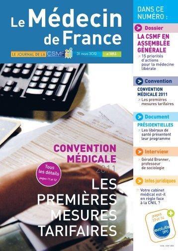Médecin de France n°1183 - CSMF