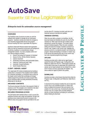 Logicmaster 90-30 software
