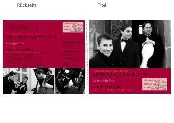Cover - Clemens Matuschek
