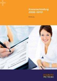 Kostenaufstellung 2009/2010 - BRUNATA Hürth