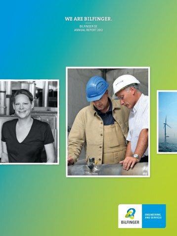 Annual Report - Bilfinger