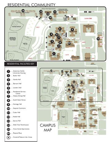 Campus map and directions to OU Oakland University School of