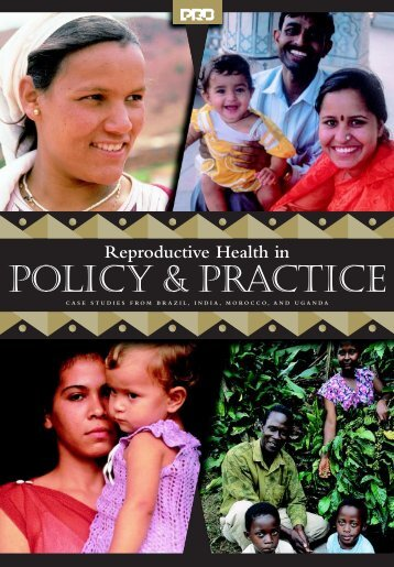 Reproductive Health in - Population Reference Bureau