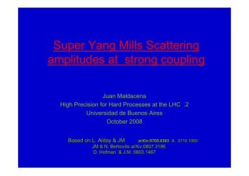 Super Yang Mills Scattering amplitudes at strong coupling