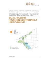 Indl. naturkonsekvensvurdering - Energistyrelsen