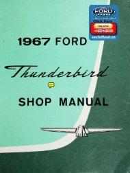 DEMO - 1967 Ford Thunderbird Shop Manual - FordManuals.com