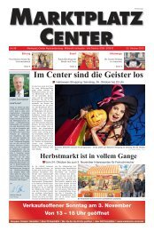 Ausgabe - Marktplatz-Center, Neubrandenburg