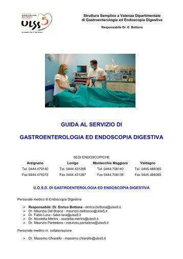 guida al servizio di gastroenterologia ed endoscopia ... - ULSS5
