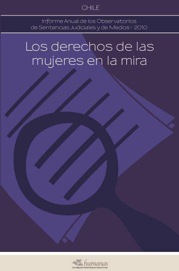 Los derechos de las mujeres en la mira - Articulación Regional ...