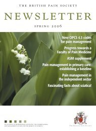 thebritish pa insocietyspring 2 0 0 6 New OPCS 4.3 codes for pain ...