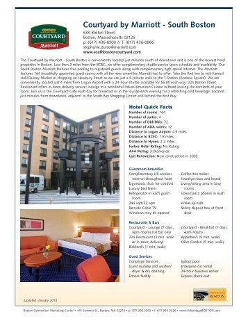 Courtyard by Marriott - South Boston - Advantage Boston