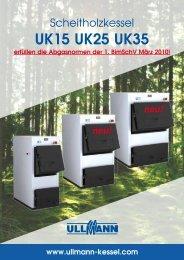 Prospekt UK - Scheitholzkessel (pdf, ca. 500 KB) - Ullmann