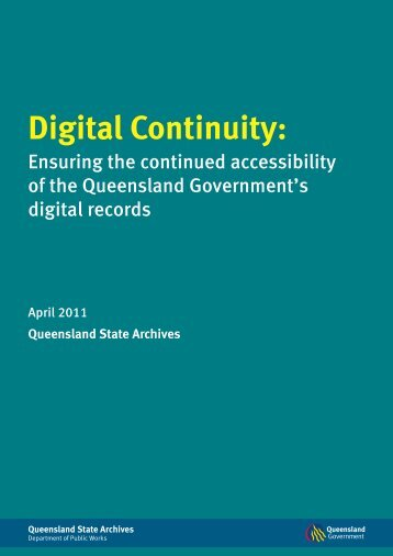 Digital Continuity: Ensuring the continued accessibility ... - Dejan SEO