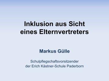 Inklusion aus Sicht … - Kreis Paderborn