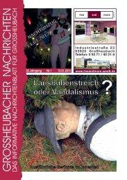 Großheubacher Nachrichten Ausgabe 01-2012 - STOPTEG Print ...