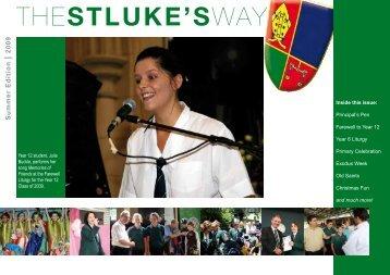 Summer Edition - St Luke's Anglican School