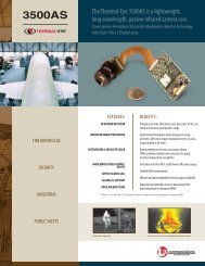 Thermal-Eye 3500AS Brochure - L-3 Infrared Products