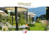 Catalogo dell'hotel - Dolce Vita Hotels