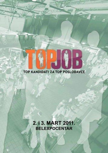 TopJob 2011 brošura - expo xxi belgrade