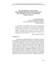 De los dioses a los santos - Saber -ULA - Universidad de Los Andes