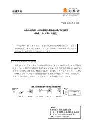 地方公共団体における意見公募手続制度の制定状況 (平成22 年10 月1 ...