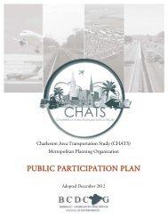 PUBLIC PARTICIPATION PLAN - BCD Council of Governments