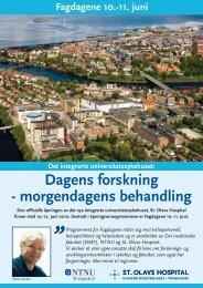 Fagdagene - St. Olavs Hospital