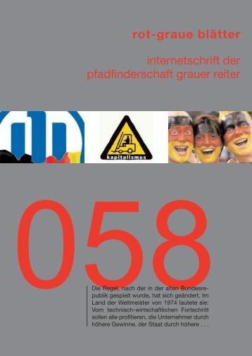 rgb 058 - Die Schriftleitung
