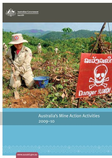 Australia's Mine Action Activities 2009-10 [PDF 3.5mb] - AusAID
