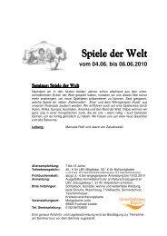 Spiele der Welt.pdf - Kreisjugendring Landsberg am Lech