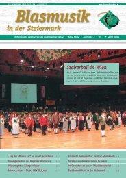 Blasmusik in der  Steiermark - Steirischer BLASMUSIKVERBAND
