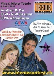 Flyer - GEWA-Messe
