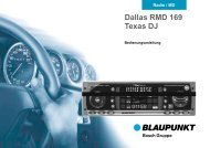 Dallas RMD 169 Texas  DJ - Blaupunkt