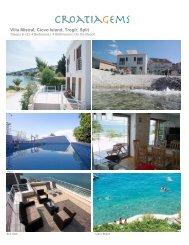 Villa Mistral, Ciovo Island, Trogir, Split - CroatiaGems